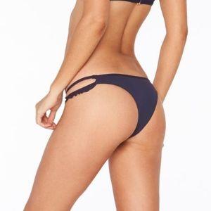 L*Space ZEPHYR Ruffle Side Bitsy Bikini Bottom